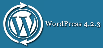 wordpress-4.2.3-update